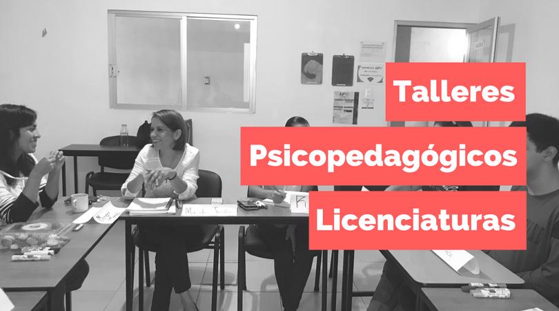 Conclusión Talleres Psicopedagógicos Licenciaturas