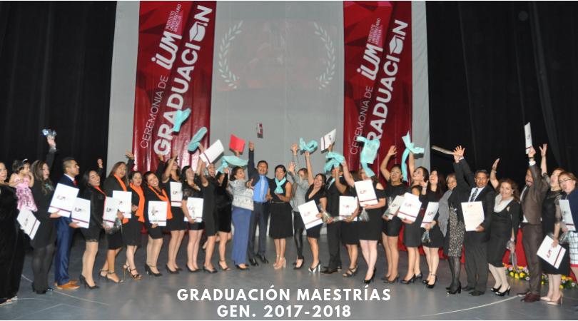 Graduación Maestrías IUM