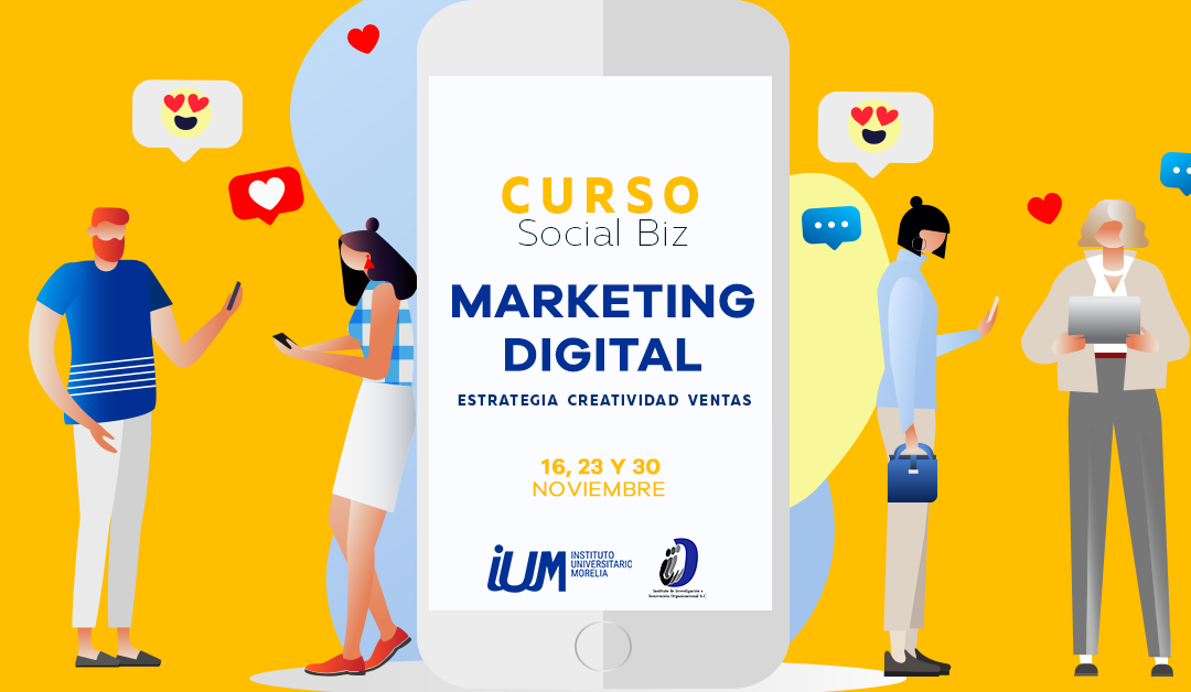 Curso de Marketing Digital. Estrategia, creatividad y ventas.
