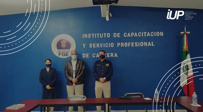 Acercamiento IUP con el Instituto de Capacitación y Servicio Profesional de Carrera