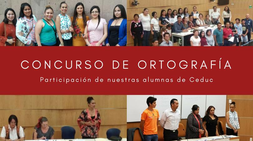 Concurso de Ortografía 2018