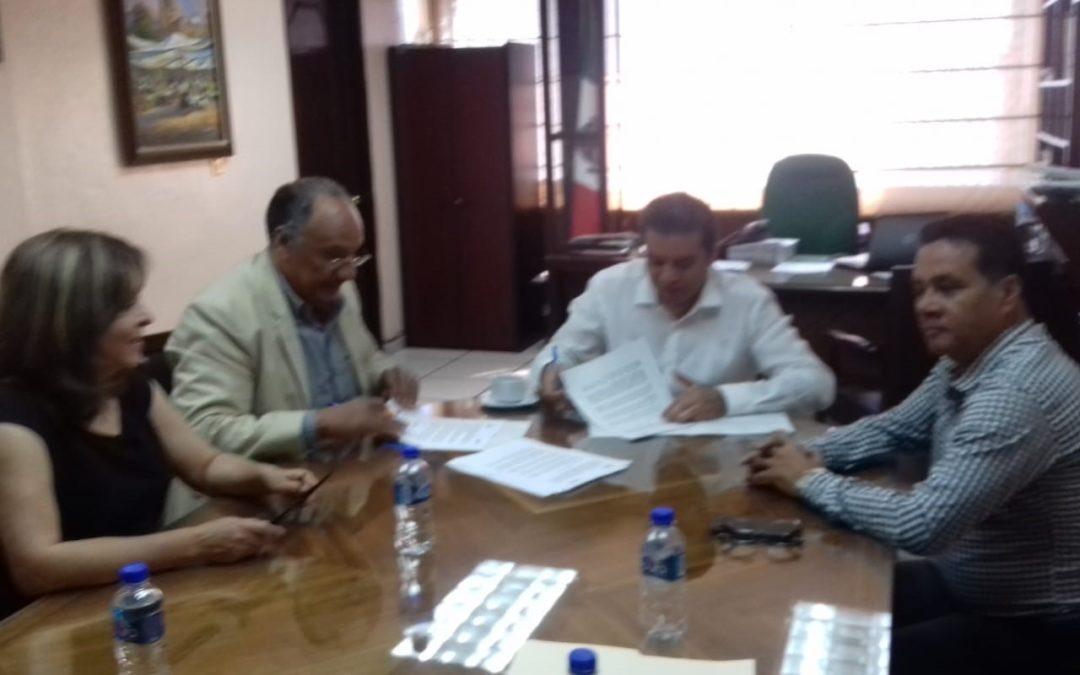 Se firma un nuevo convenio de colaboración académica entre IUP Extensión Morelia e IMCED
