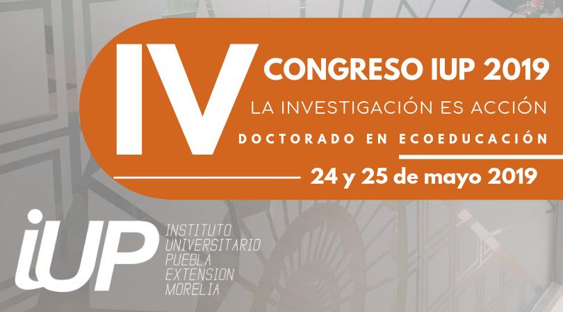 """IV Congreso """"La Investigación es Acción"""" del Doctorado en Ecoeducación"""