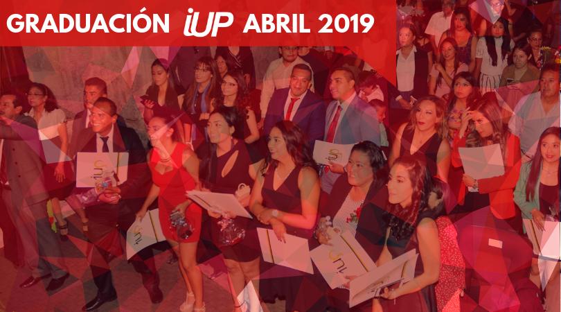 Graduación Abril 2019