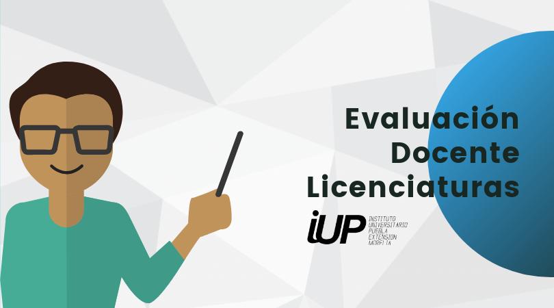 Evaluación Docentes Licenciaturas 2019